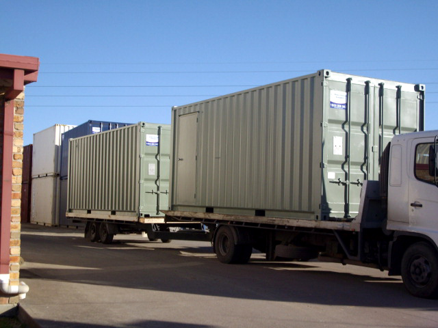 container deliveries Hunter valley